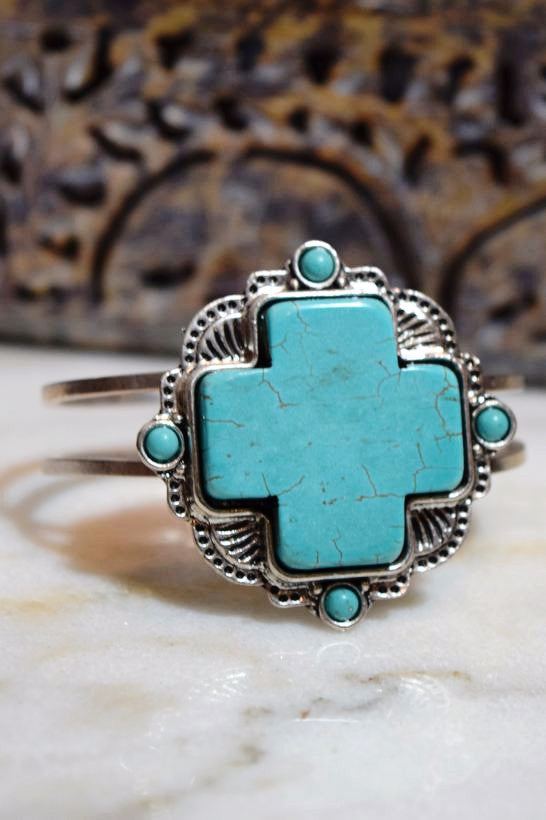 Nefertiti Bracelet - Turquoise - Angel Heart Boutique - Bracelet - Angel Heart Boutique  - 1