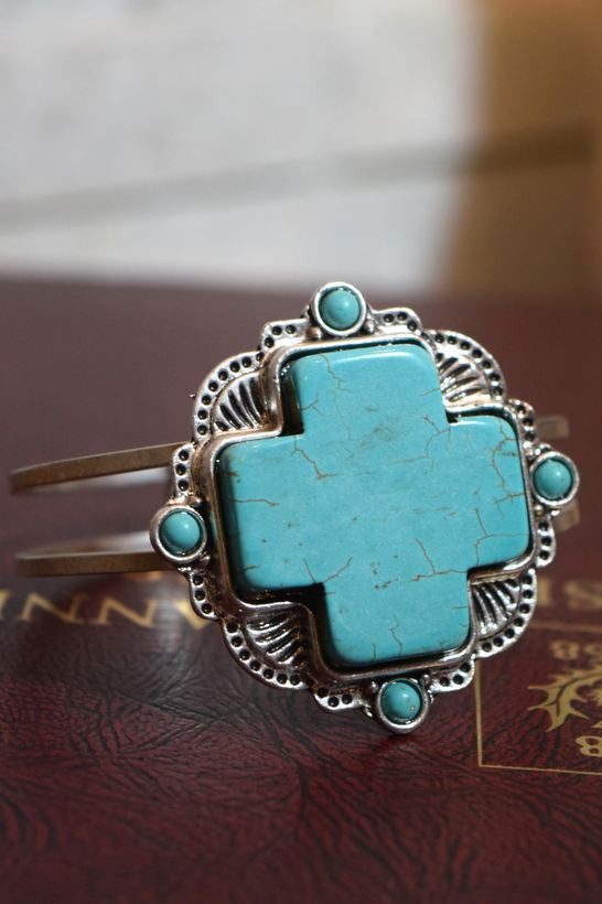 Nefertiti Bracelet - Turquoise - Angel Heart Boutique - Bracelet - Angel Heart Boutique  - 3