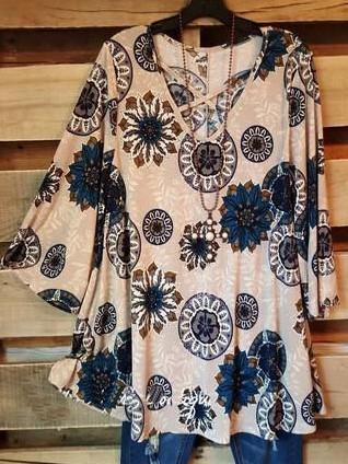 All The Right Places Tunic