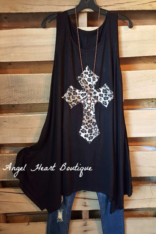 My Rockstar Love Tunic - Black