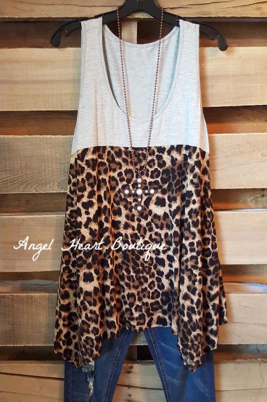 Let's Get Away Tunic - Leopard