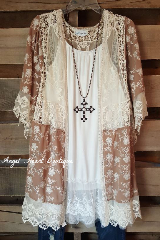 Slip On Dress - White - Angel Hear - Dress - Angel Heart Boutique  - 4