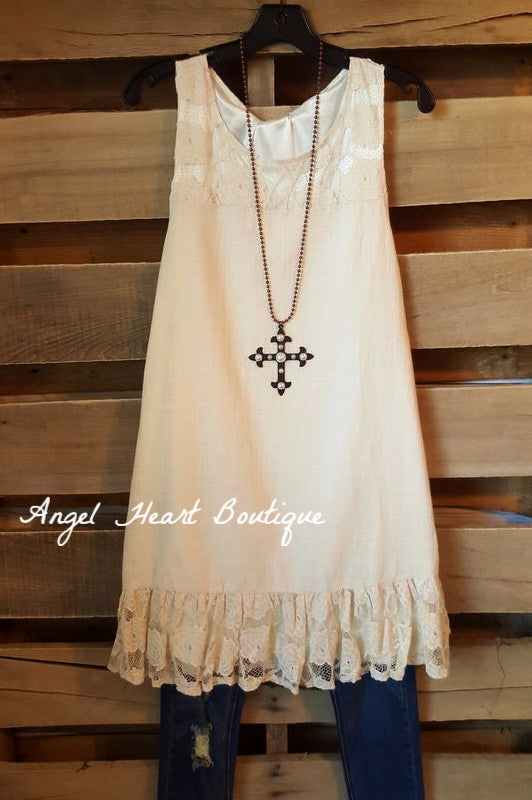 Couldn't Love You More Dress - Beige