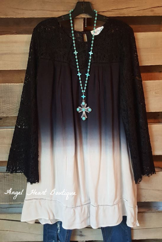Down Memory Lane Dress - Black-BLACK FRIDAY [product type] - Angel Heart Boutique