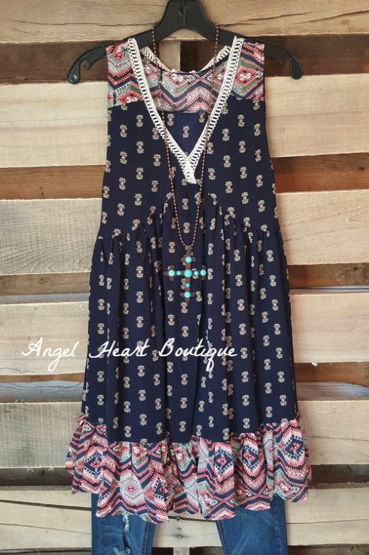 Dreams Collide Dress - Blue - Angel Heart Boutique - Dress - Angel Heart Boutique  - 1