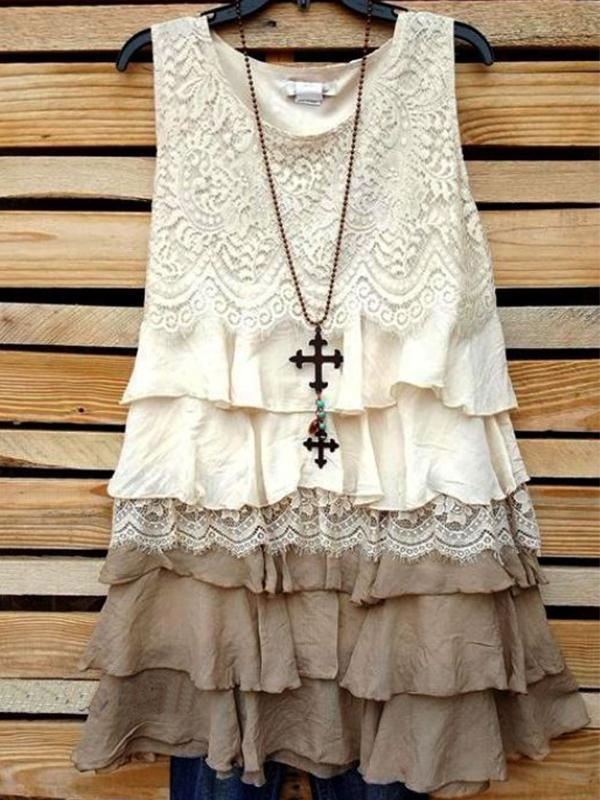 True to My Intentions Dress - Cream