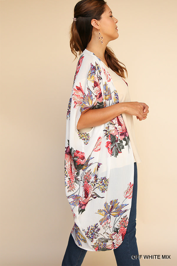 Expected Beauty Kimono - Off White [product type] - Angel Heart Boutique