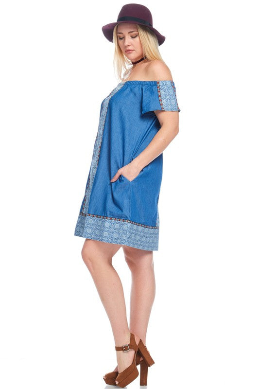 My Perfect Summer Dress - Dark Blue - SALE