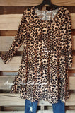 Put Me On The Spot Tunic - Leopard - Angel Heart Boutique - Tunic - Angel Heart Boutique