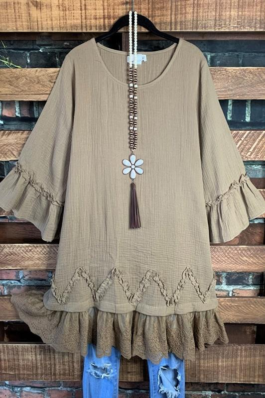Forever With You Tunic - Mocha