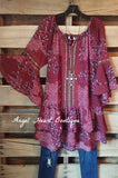 My Favorite Feeling Dress - Wine - Umgee - Dress - Angel Heart Boutique  - 4