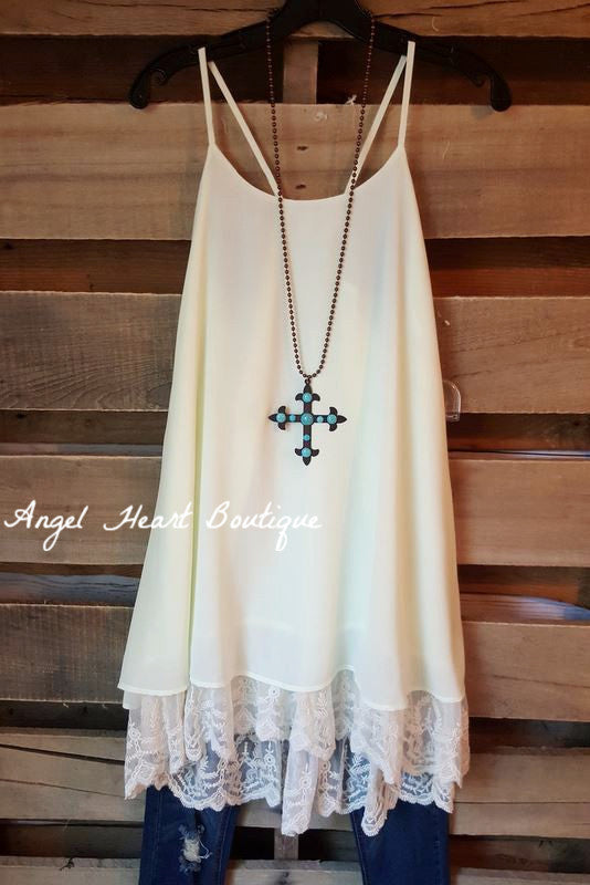 Ballerina Dreams Dress - Beige/Cream - Angel Heart Boutique - Dress - Angel Heart Boutique  - 2