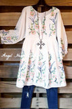 Dare To Dream Dress - White [product type] - Angel Heart Boutique
