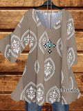 In The Meantime Tunic - Mocha