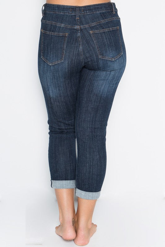Looking Good Jeans - Mid Wash [product type] - Angel Heart Boutique