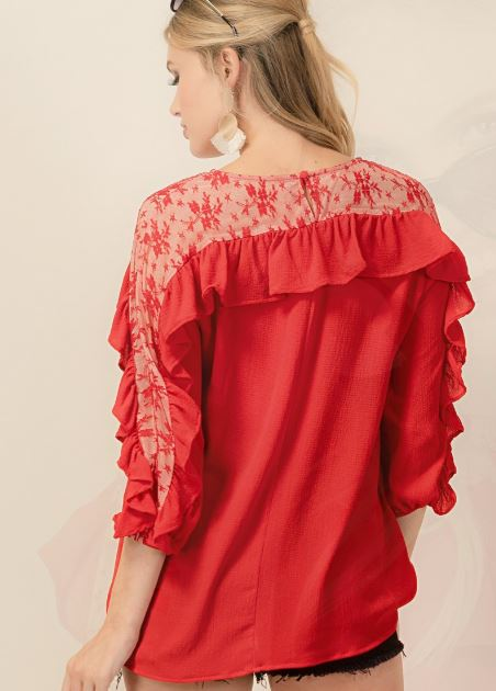 Best Of All Top - Red [product type] - Angel Heart Boutique