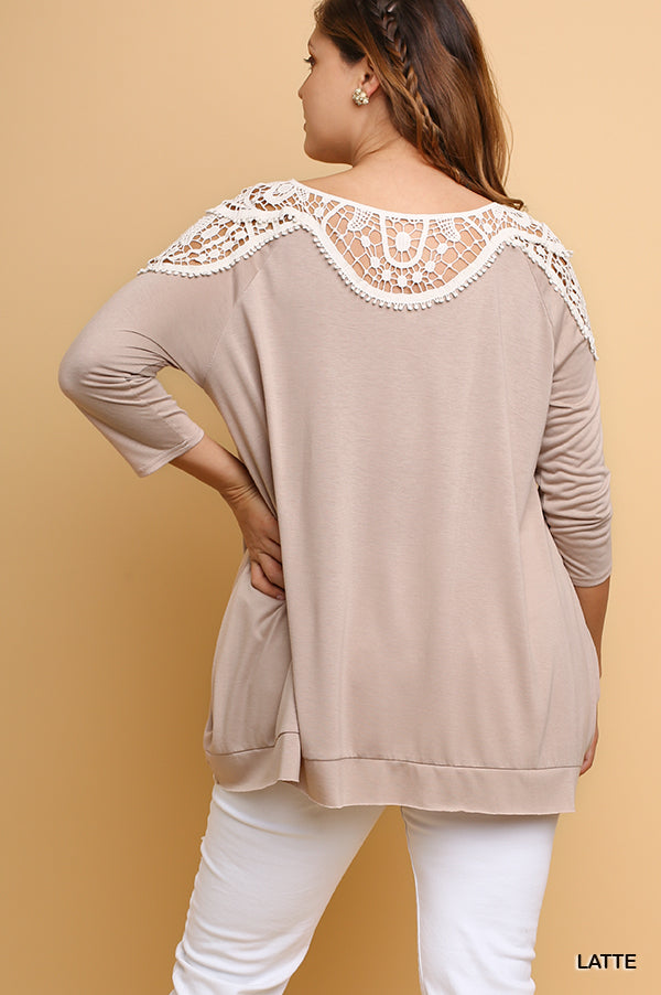 Fast Love Top - Latte [product type] - Angel Heart Boutique