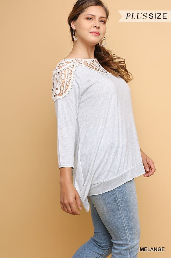 Fast Love Top - Melange [product type] - Angel Heart Boutique