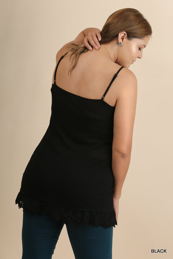 My Sweet Cami - Black [product type] - Angel Heart Boutique