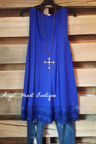 Any Occasion Tunic - Indigo Blue