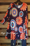 Never Too Busy Dress - Navy - Angel Heart Boutique - Tunic - Angel Heart Boutique  - 1
