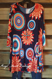 Never Too Busy Dress - Navy - Angel Heart Boutique - Tunic - Angel Heart Boutique  - 2