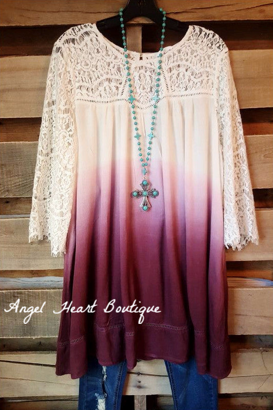 Down Memory Lane Dress - Purple - Umgee - Dress - Angel Heart Boutique