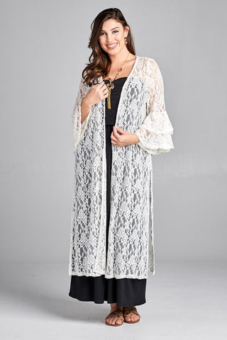 Playing Favorite Kimono - Grey - SALE
