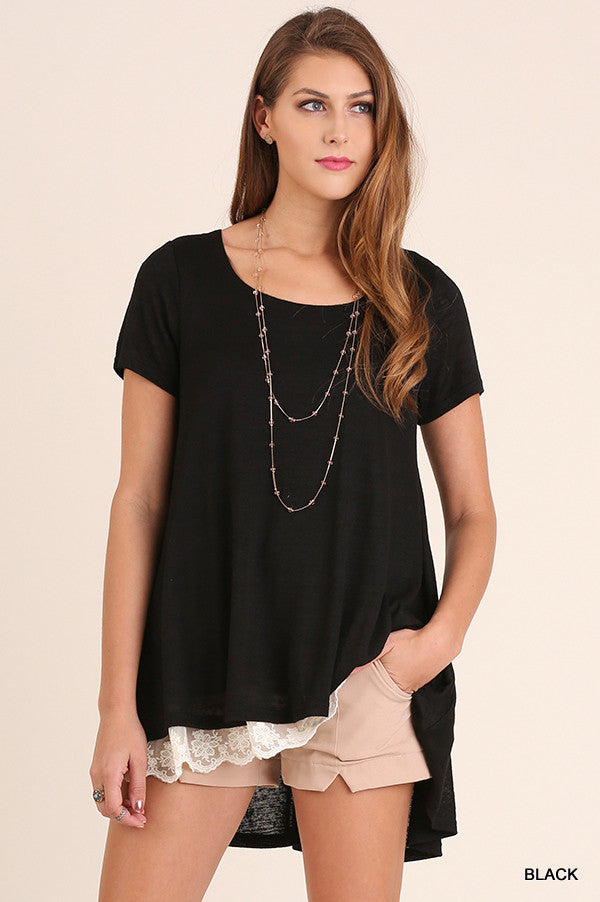 What Are You Waiting For Tunic - Black