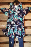 My Tropical Soul Tunic - Navy