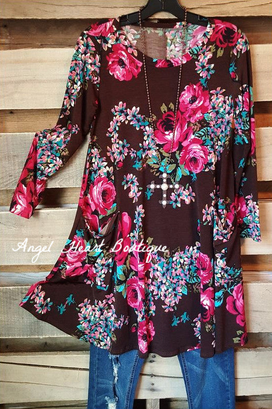 Can You Say Romance Tunic - Cezanne - Dress - Angel Heart Boutique