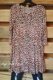 Wild For You Tunic - Leopard/Red - Angel Heart Boutique - Tunic - Angel Heart Boutique  - 2