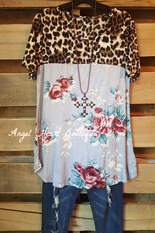 All That Love Top - Lavender - SALE [product type] - Angel Heart Boutique