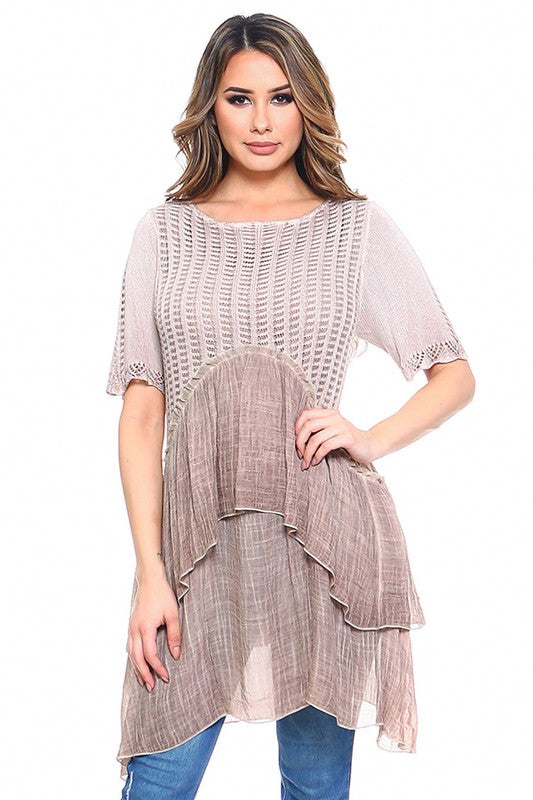 Chasing Memories Dress - Brown [product type] - Angel Heart Boutique