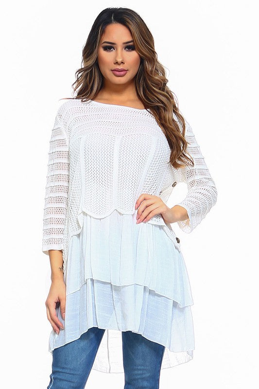 Chasing Memories Dress - White [product type] - Angel Heart Boutique