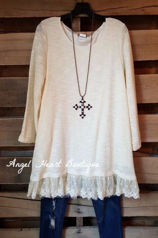 Seemingly Perfect Sweater - Cream - Angel Heart Boutique - Sweater - Angel Heart Boutique  - 2