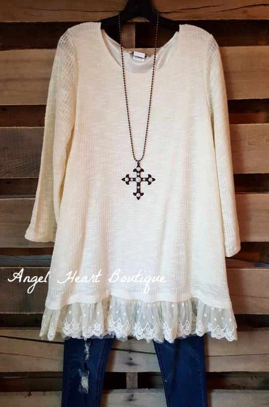 Seemingly Perfect Sweater - Cream - Angel Heart Boutique - Sweater - Angel Heart Boutique  - 3