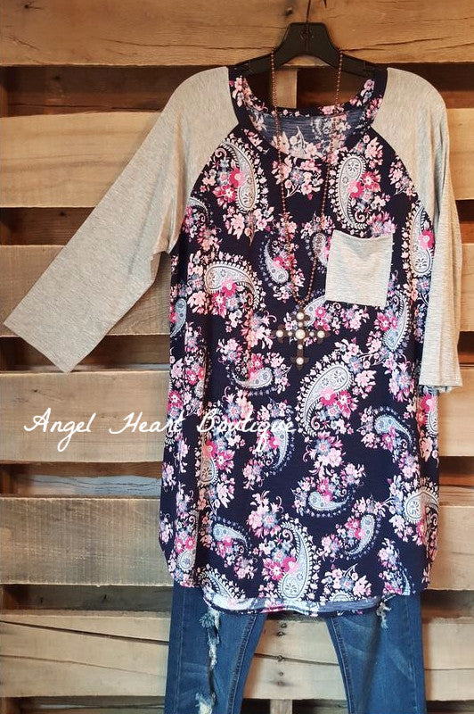 Sweet Summer Nights Top - Navy SALE