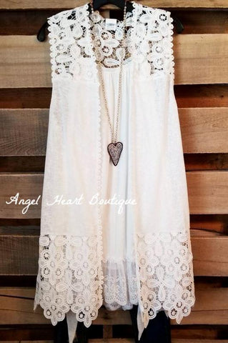 Flawless Love Cardigan - Ivory