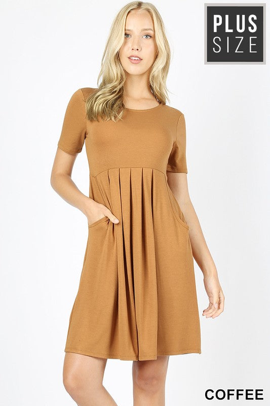 Best Cut Dress - Coffee [product type] - Angel Heart Boutique