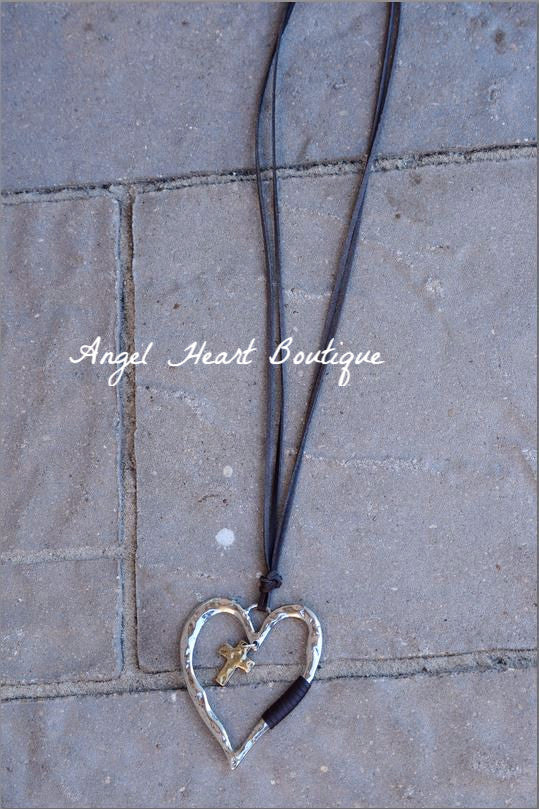 Never Let You Go Necklace - JS World Trading - Necklace - Angel Heart Boutique  - 4