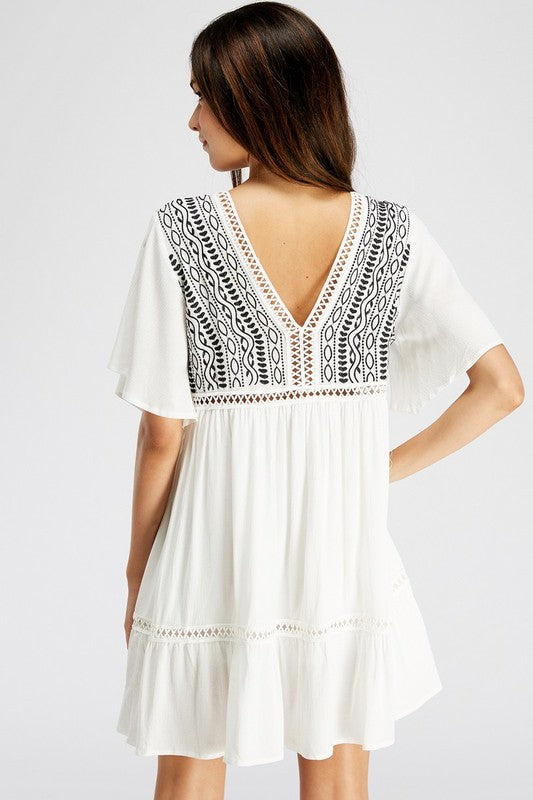 AHB EXCLUSIVE: Sweet Sensation Dress/Tunic - White