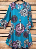 Lucy in The Skies Tunic - Teal
