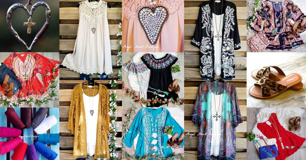 Plus Size boutique - Angel Heart Boutique