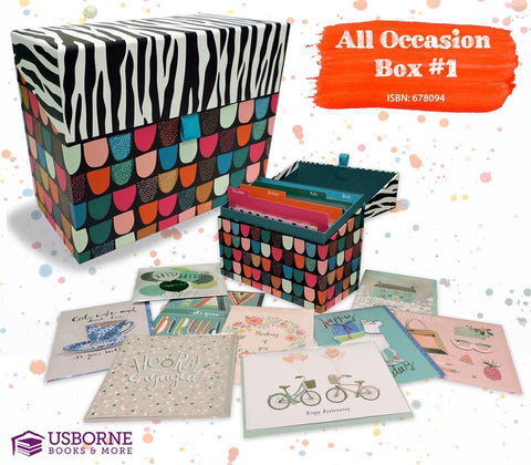 All Occasion Cards - Image Provided by Usborne Books and More