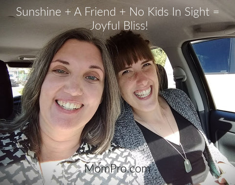 Thank You For Being A Friend - Anjanette Barr and Jennie Louwes - Selfie Provided by Jennie