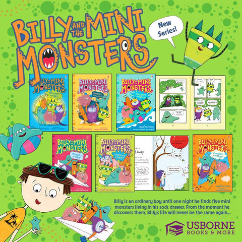 Billy and the Mini Monsters - Image Provided by Usborne Books and More
