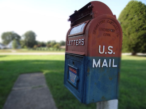 The good 'ol days: Mail, of days gone by