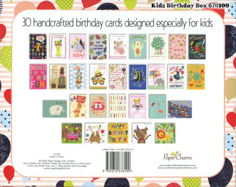 Birthday Cards for Kids - Image Provided by Usborne Books and More