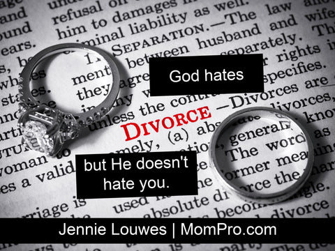 The Truth About Divorce - Photograph by faustlawmarketing via Morguefile - Word Overlay by Jennie Louwes